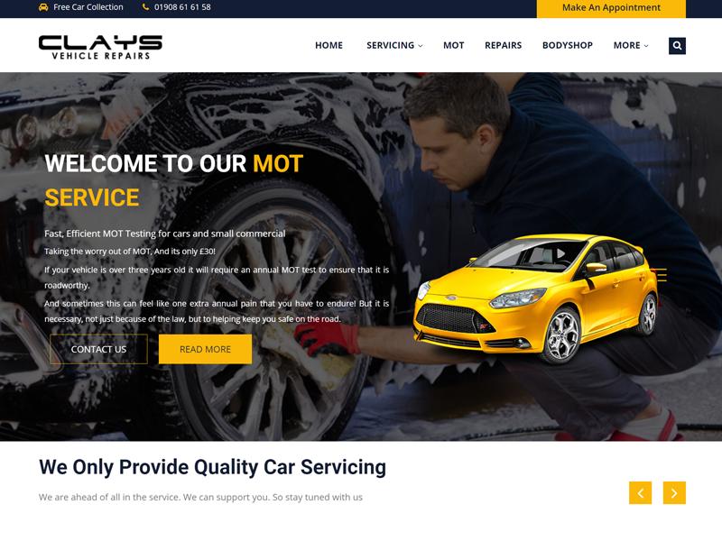 Clays Vehicle Repairs
