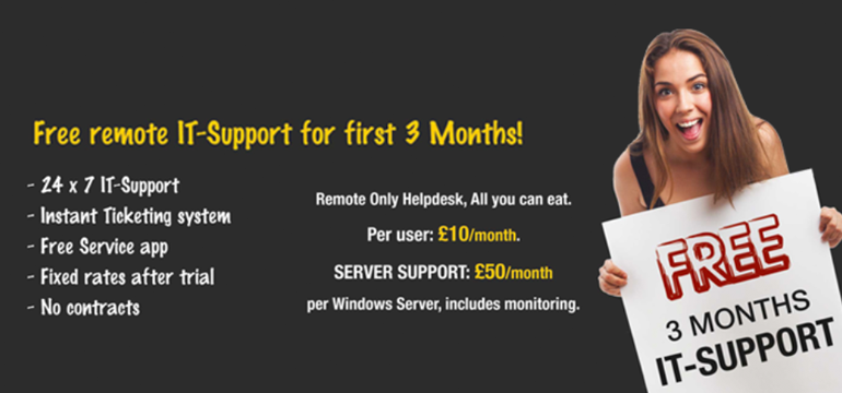 Free Remote IT-Support